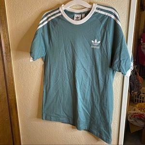 Blue adidas tshirt